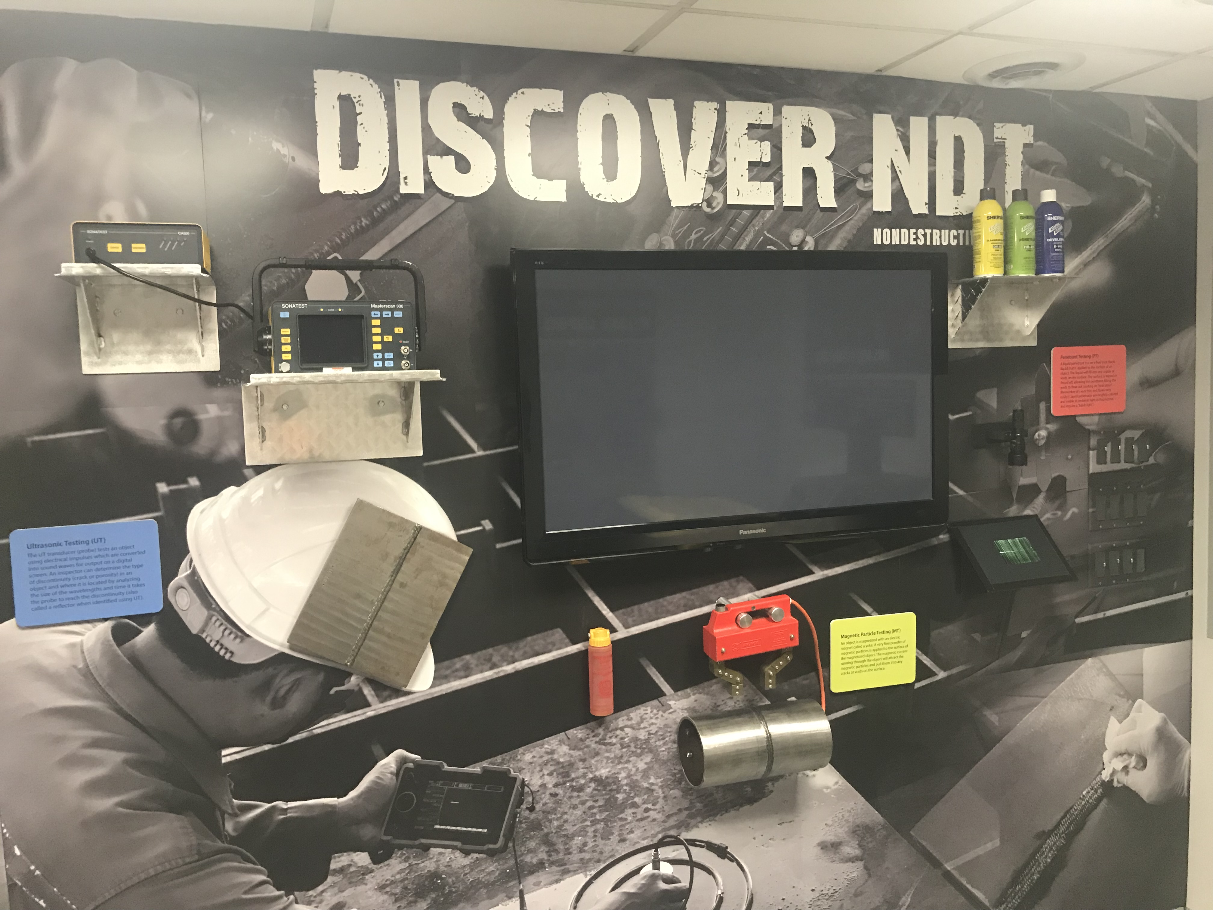 ASNT Debuts Nondestructive Testing Display in 2019 Careers in Welding Exhibit_image