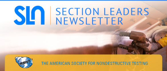 asnt section leaders newsletter